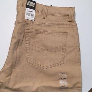 Claiborne Jeans pants in tan color NWT 40x32